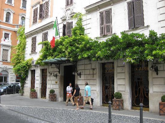 Eingangsbereich hotel locarno foto di hotel locarno for Boutique hotel anahi roma