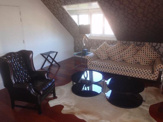 Heritage Avenida Liberdade Hotel : le coin salon