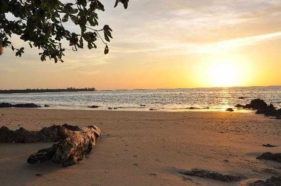 The Sarojin: Sunset on White Sand Beach