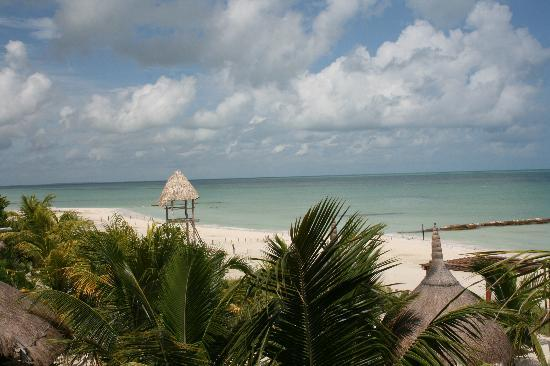 Holbox Dream Beach Front Hotel by Xperience Hotels: View from hotel out to ocean