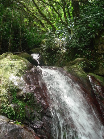 San Juan, Puerto Rico: One of the first waterfalls
