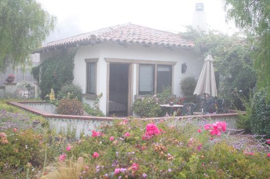 The Casitas of Arroyo Grande: Sarchi on a mist covered morning
