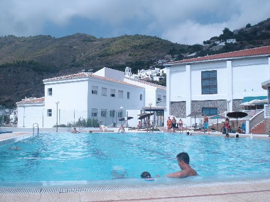 Hotel La Casa: Pool at Frigiliana
