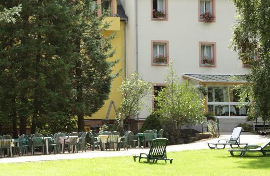 Vue De L Arriere Picture Of Hotel De La Poste Le Bonhomme Tripadvisor