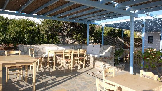 Agios Georgios, Grecja: patio