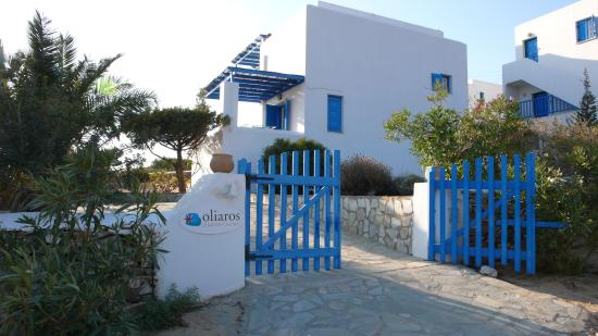 Oliaros Seaside Lodge : vue d'ensemble entrée