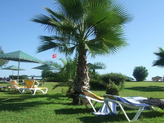 Kaya Belek Hotel: gardens near beach/pool