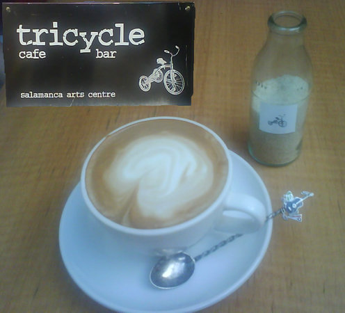 Tricycle Cafe: really good coffee