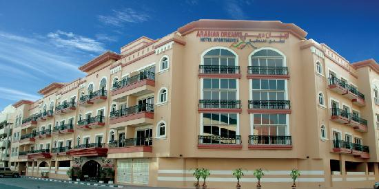 Arabian Dreams Hotel Apartments: Exterior
