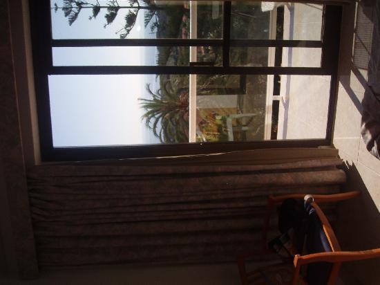 Na Taconera: Blick aus dem Hotelzimmer (ohne störende Hotels)