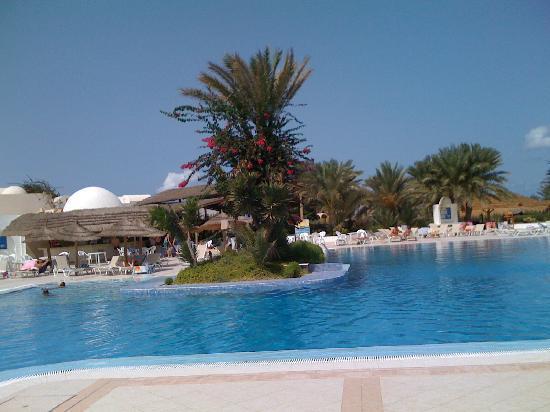 Midoun, Tunisia: Piscine