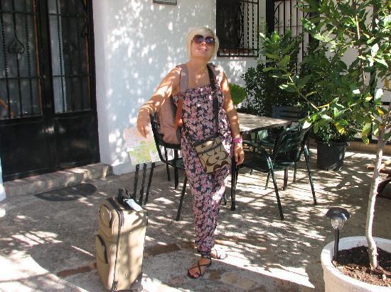 Arriving at Cuevas El Abanico