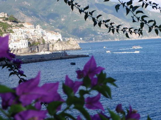 Santa Caterina Hotel : One of the views from our terrace