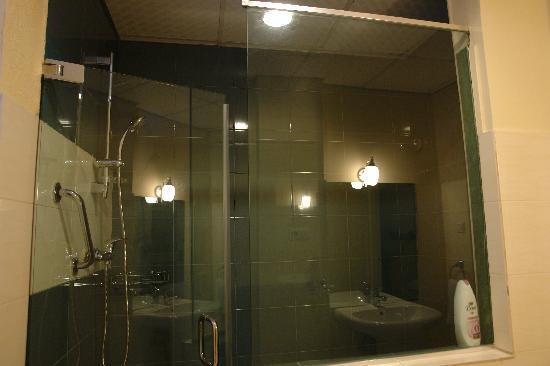 Addis Regency Hotel: The Steam box shower