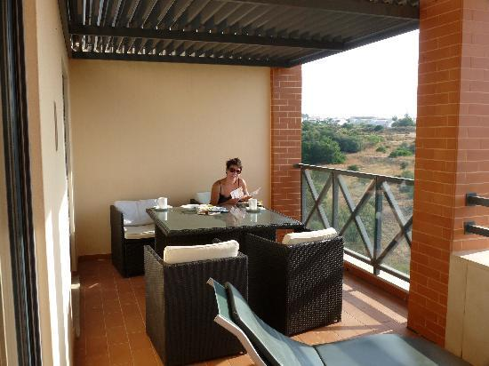 Parque da Corcovada : balcony