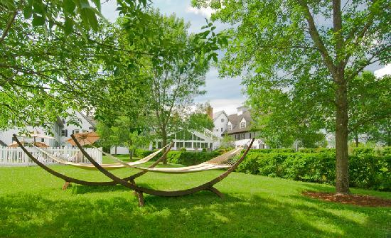 The Essex, Vermont's Culinary Resort & Spa: Our signature hammocks on the East Lawn