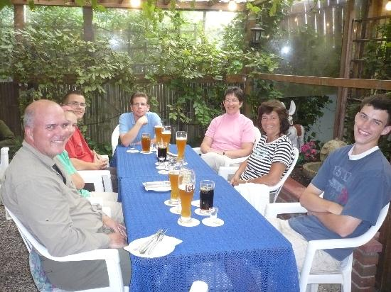 Sahlings Gasthaus: Biergarten