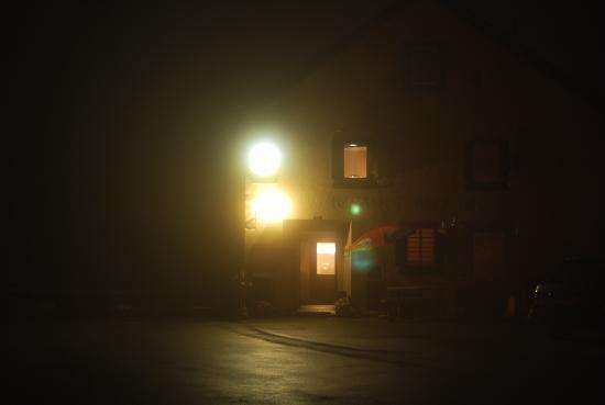 Ospizio La Veduta: Das Hospiz mitten in der Nacht