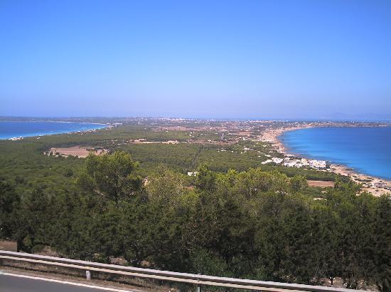Lago Playa I: panorama