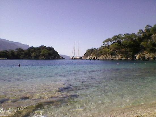 Gorkem Hotel: blue lagoon beach