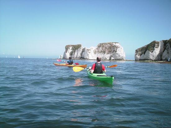 Studland Sea School: Sea kayaking tours of Old Harry Rocks