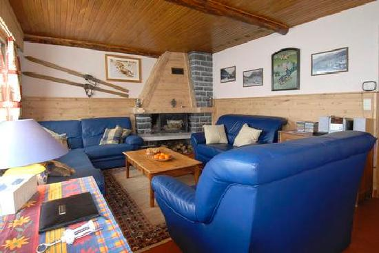 Chalet L'Etringa: Lounge