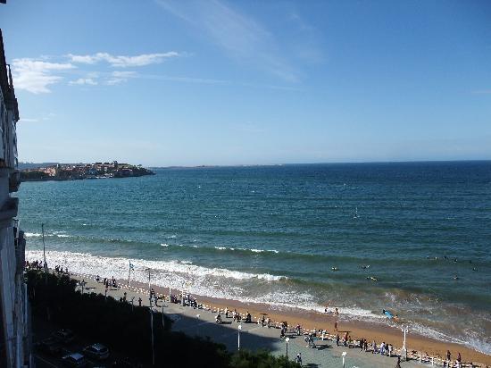 Hotel Principe de Asturias: The view