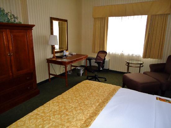 โรงแรมฮิลตัน นอร์ทบรู๊ค: Bedroom