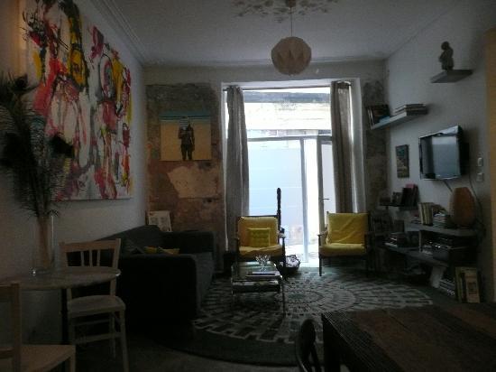 Au Vieux Panier : il soggiorno