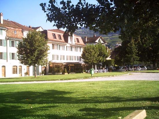 Hotel Major Davel: Blick vom See