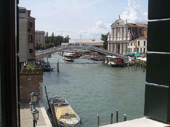 Hotel Canal Grande: view from room