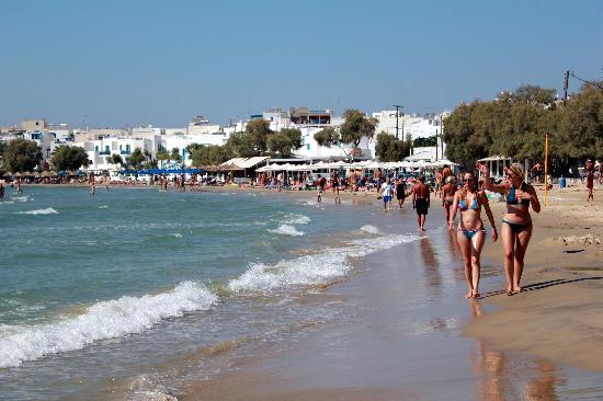 Aeolis Boutique Hotel: Lækker strand i Naxos