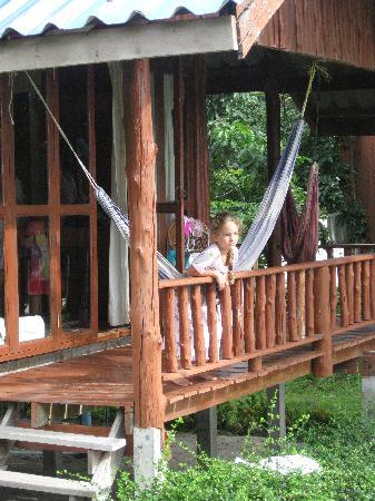 Candle Hut Resort: hammocks in every room