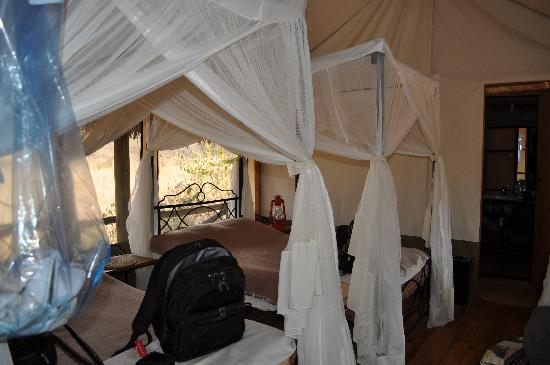 Lake Burunge Tented Camp: Bedroom