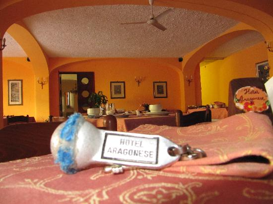 Aragonese : sala colazione/cena