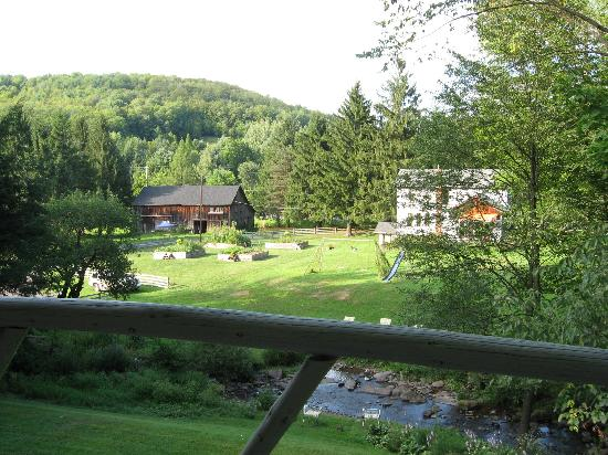 The Mountain Brook Inn: View from our room