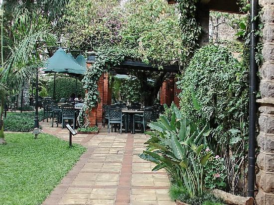 Fairview Hotel: Garden cafe