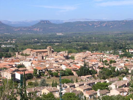 Roquebrune-sur-Argens, França: VU DE LA CHAMBRE