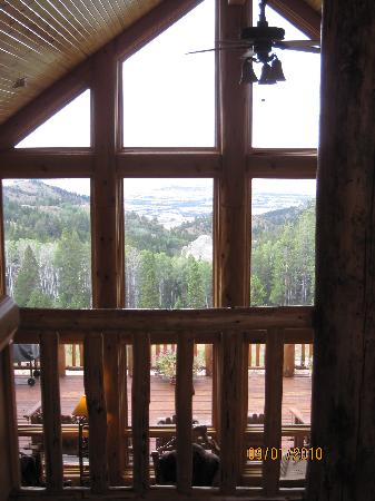 Casper, WY: View out windows of great room