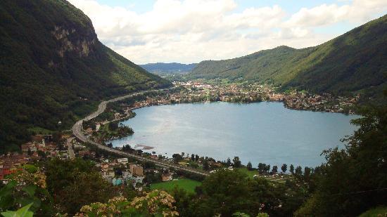 Park Hotel Rovio: vista da Rovio sul lago di Lugano