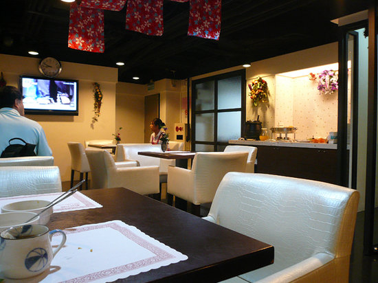 Lio Hotel: 朝食は地下で提供