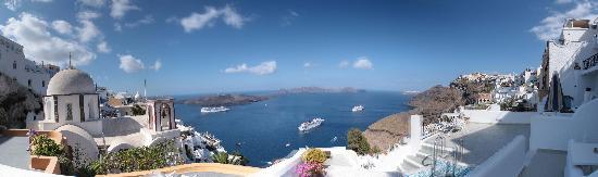 Villa Renos: View from rooms