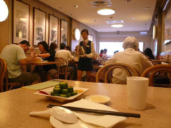 Din Tai Fung (Xinyi): 先ずは当てを先に食べます