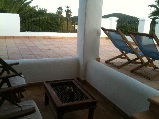 Agroturismo Can Planells: Our roof terrace