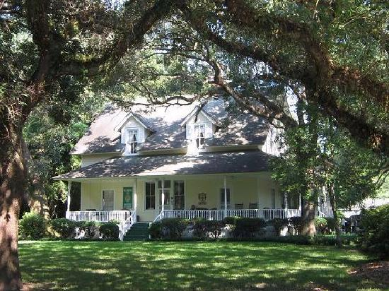 Magnolia Springs Bed & Breakfast: View from Oak Street