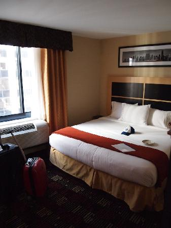 Holiday Inn Express New York City-Wall Street : Main view of room