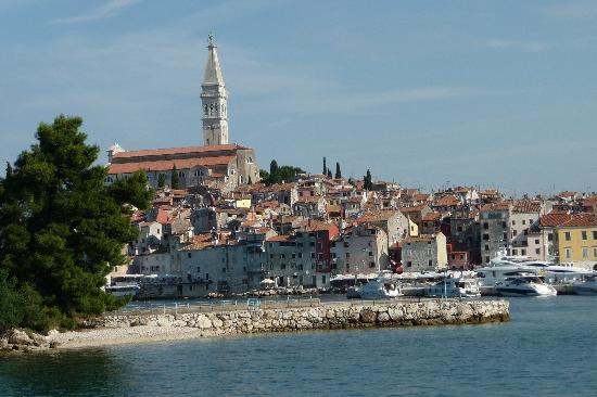 Rovigno, Croazia: Rovinj from the sea