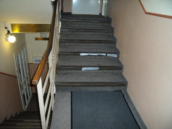 Hotel Stirka: les couloir pas propre
