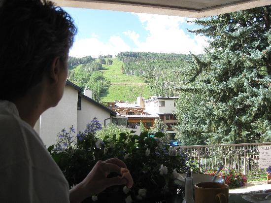 Austria Haus Hotel: The View at Breakfast