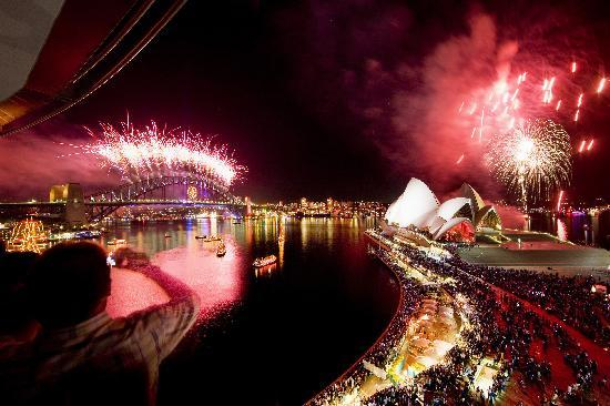Sydney, Australia: The Vivacity (New Year's Eve)